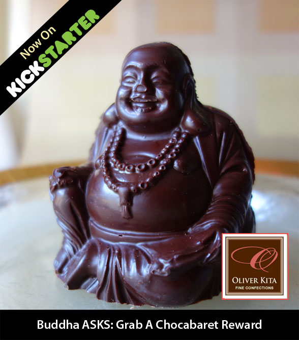 Oliver Kita's Chocolate Buddha is in the NYC Ultra Gift Box Reward!