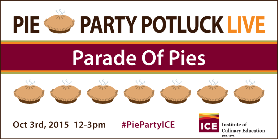 The Parade Of Pie Party Potluck LIVE! Pies
