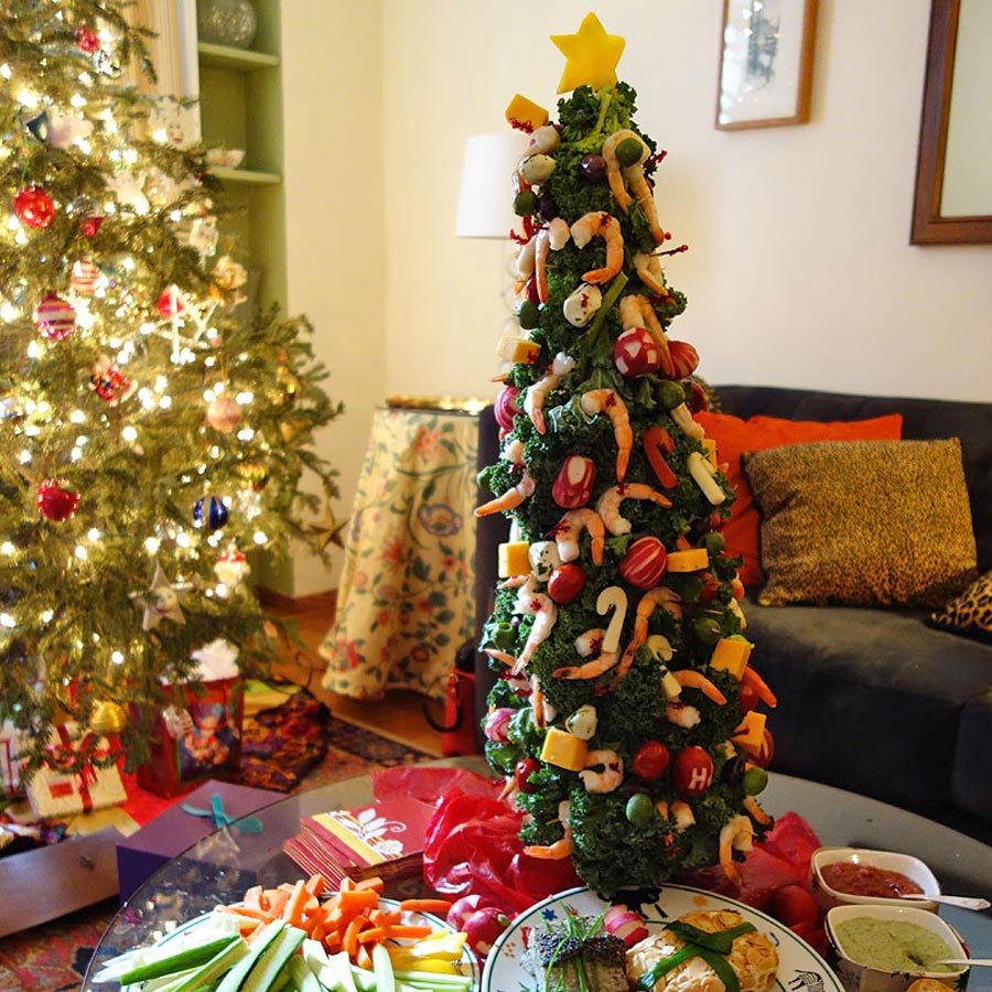 How To Make A Shrimp Christmas Tree