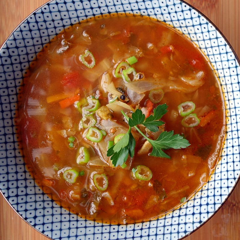 Cabbage Diet Soup My Way