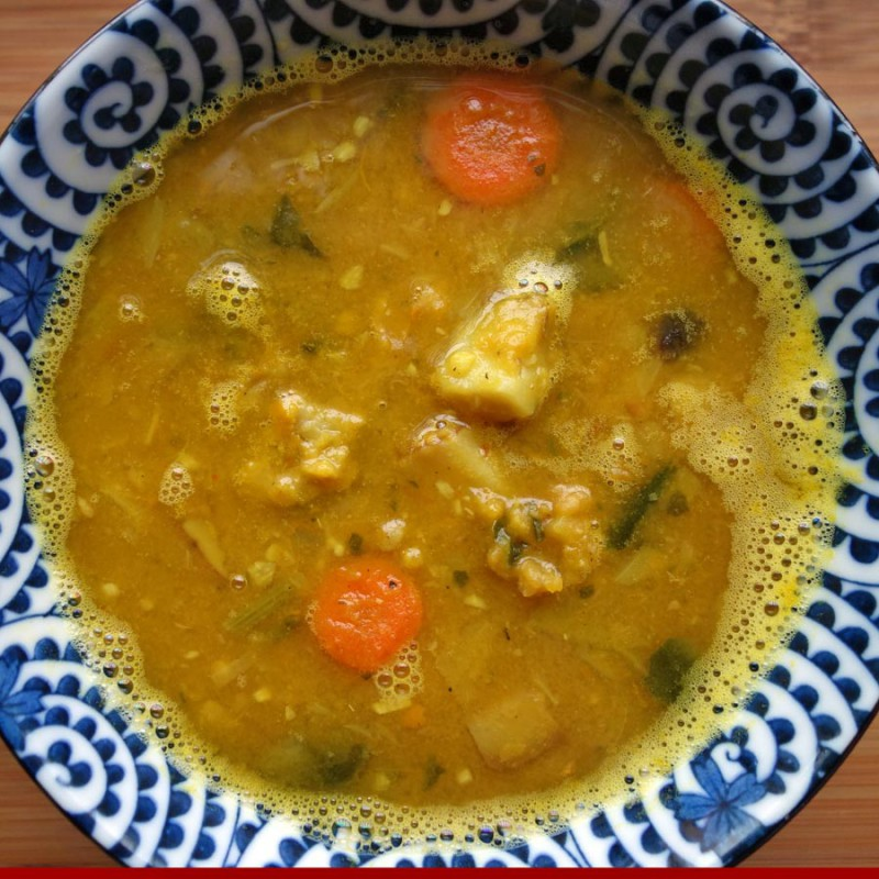 Dal Vegetable Soup