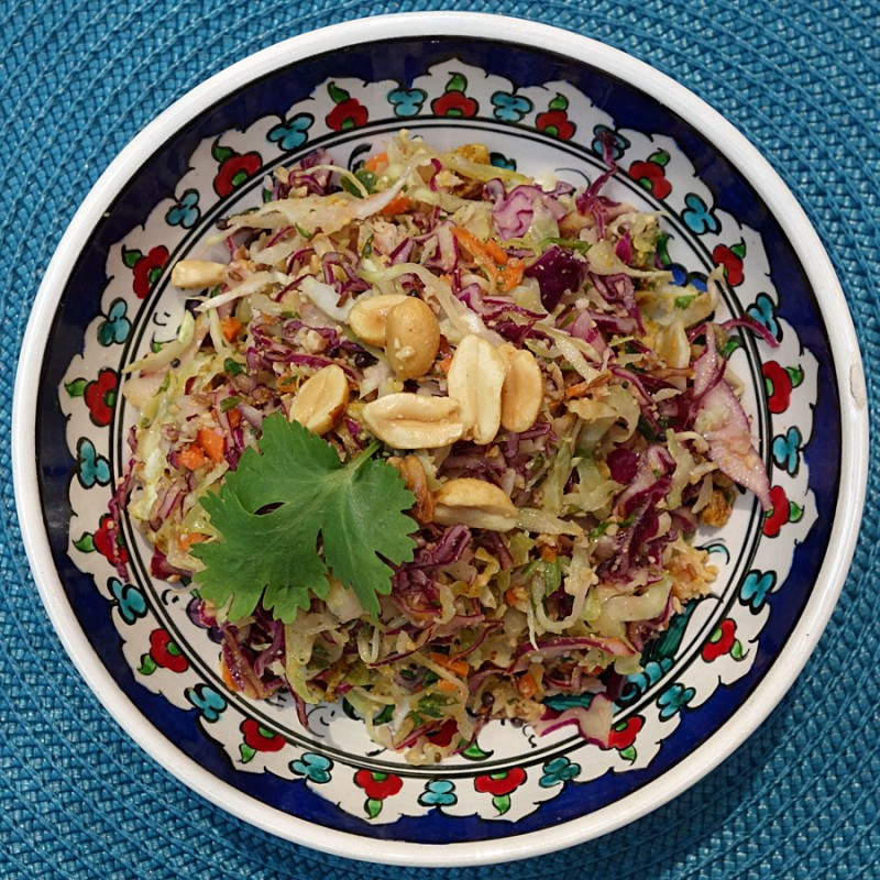 Indian Spiced Slaw