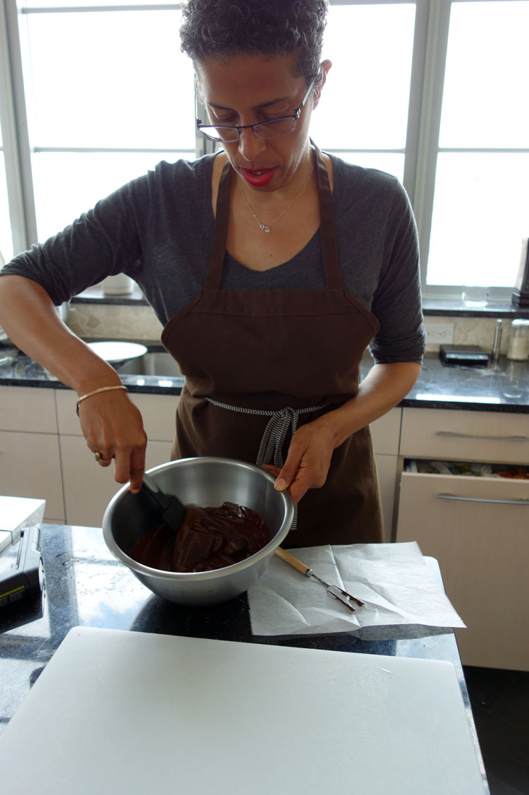 Jackie Gordon Singing Chef - How To Temper Chocolate Without Losing Your Temper