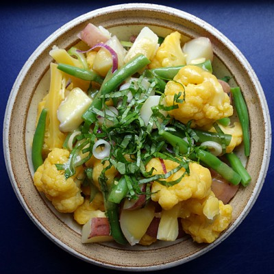 Jackie Gordon Singing Chef - Outdoor Friendly Dish: Potato, Cauliflower & Green Bean Salad