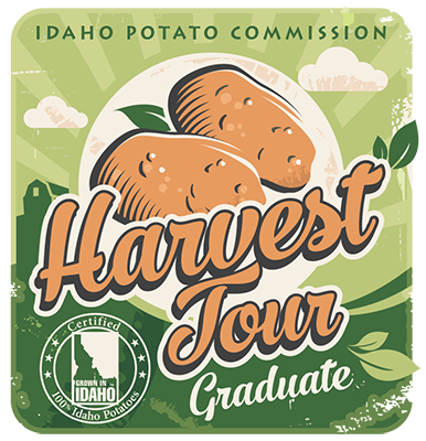 The Idaho Potato Tour Graduate Badge