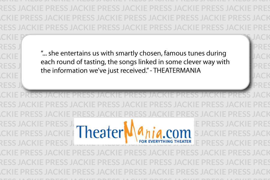 Jackie Gordon Singing Chef - Reviews: Say Cheese at Theatermania.com