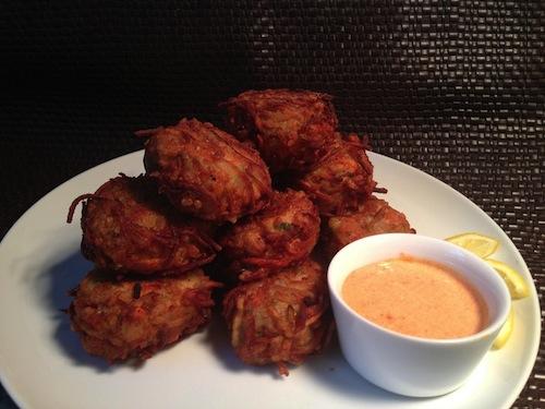 Jackie Gordon Singing Chef - How to Make Salmon Potato Latkes
